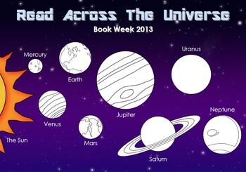 Book Week Read Across the Universe Activity Checklist
