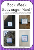 Book Week Scavenger Hunt!