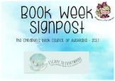 Book Week Signpost Display - Escape to Everywhere