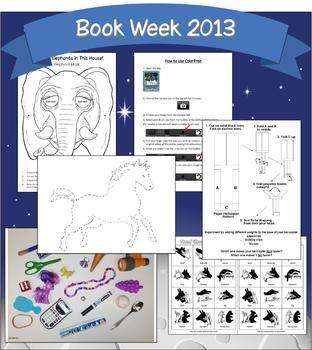 Book Week mini activity pack - 6 activities