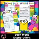 Book Work Expectations - How my Book Should Look