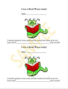 Book Worm Awards