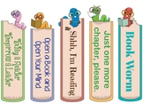 Book Worm Bookmarks