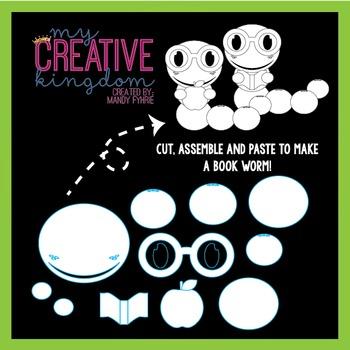 Book Worm Craft