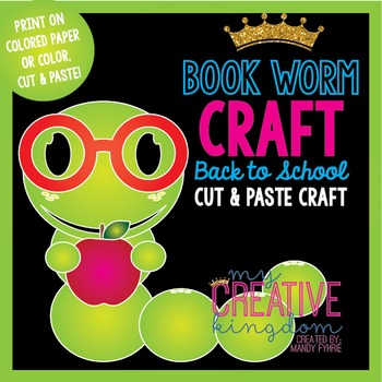 Book Worm Craft
