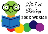 Book Worm Poster