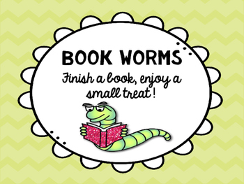 Book Worm Sign