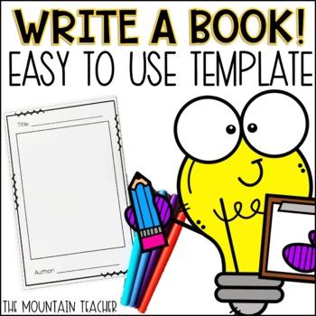 Book Writing Template