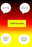 Book a hotel room (German) - Hotelzimmer buchen