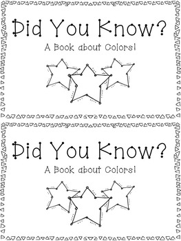 Book about Colors!