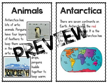 Easy-Reader Printable Continent Books
