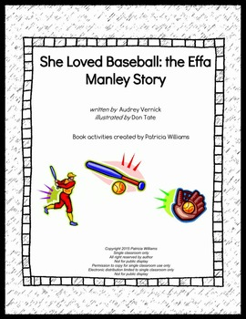 "Book activities for ""She Loved Baseball: the Effa Manley Story"""