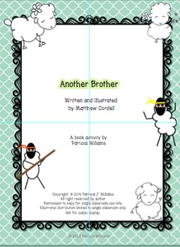 """Book activities for """"Another Brother"""" by Matthew Cordell"""