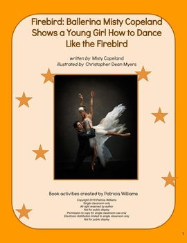 "Book activities for ""Firebird: Ballerina Misty Copeland Shows . . . """