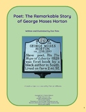 "Book activities for ""Poet: The Remarkable Story of George Moses Horton"""