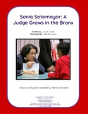 """Book activities for """"Sonia Sotomayor: A Judge Grows in the Bronx"""""""