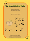 "Book activities for ""The Man with the Violin"""