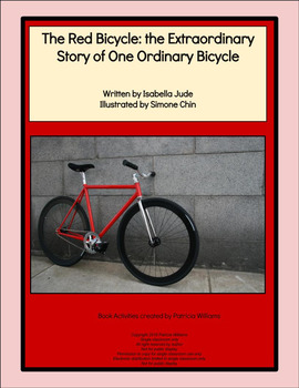 """Book activities for """"The Red Bicycle: the Extraordinary Story of . . . Bicycle"""""""