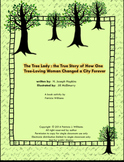 """Book activities for """"The Tree Lady"""""""
