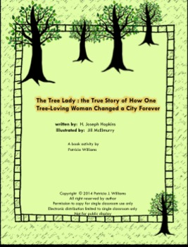 "Book activities for ""The Tree Lady"""