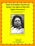 "Book activities for:  ""Voice of Freedom: Fannie Lou Hamer, ..."""