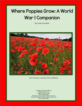 "Book activities for ""Where Poppies Grow: A World War I Companion"""