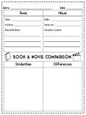 Book and Movie Comparison