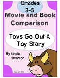 Book and Movie Comparisons - Toys Go Out and Toy Story