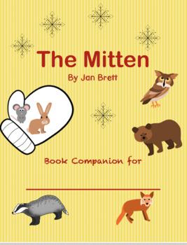 Book companion for The Mitten by Jan Brett