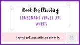 Book for Eliciting CV Words