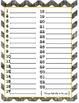 Book goal chart/student self data