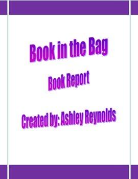 Book in a Bag (Book Report)