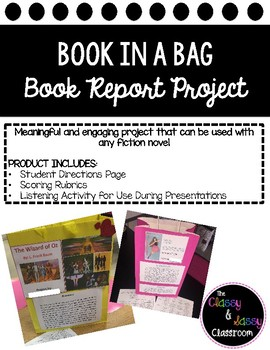 Book in a Bag Book Report- Elementary Edition