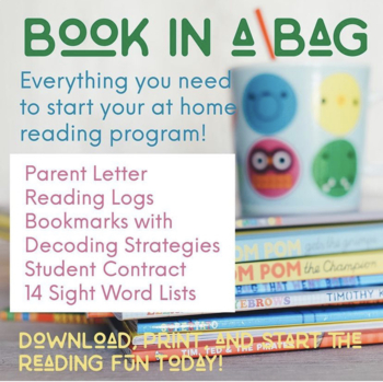No-Prep Book-in-a-Bag - Communication and Printables +14 S