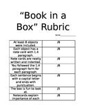 Book in a Box Rubric