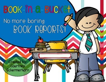 Alternative Book Report Activity/Project with Critical-Thi