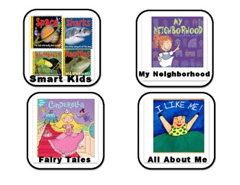 Book labels for classroom library and more for K-2