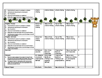 Book od Life Project description and rubric