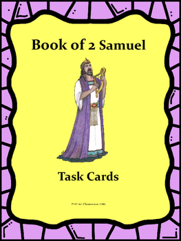Book of 2 Samuel Task Cards