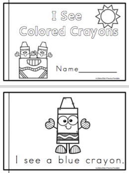 Book of Colored Crayons
