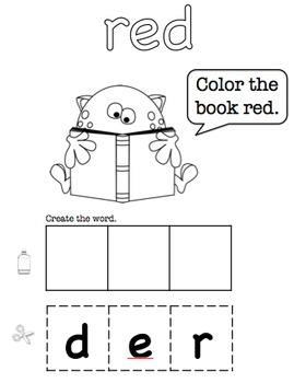 Book of Colors - Following Directions