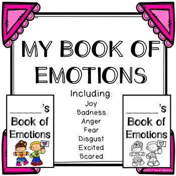 Book of Emotions - Color and BW