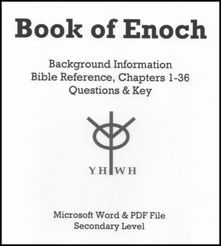 Book of Enoch: Text & Reading Comprehension Questions