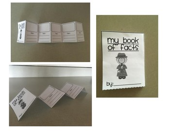 Book of Facts Foldable