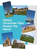 Book of Famous Structures with Maps for Construction Area