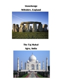 Book of Famous structures (for block center)