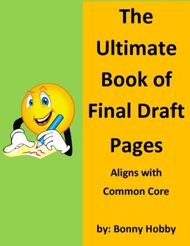 Book of Final Draft Pages - Aligns with Common Core