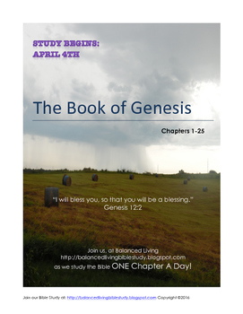 Book of Genesis Bible Study Guide (Ch. 1-25)