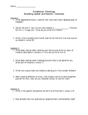 Book of Genesis - Reading Guide