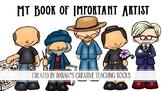 Book of Important Artist Workbook